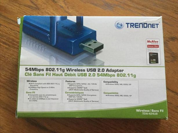 TRENDnet Wireless USB 2.0 Adapter