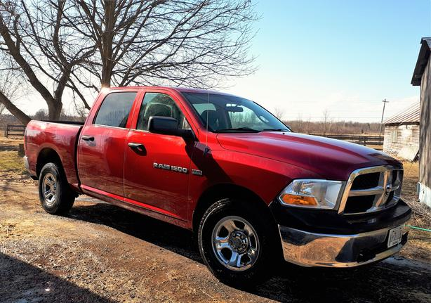 Dodge Quad Cab 4x4 with extra towing capacity