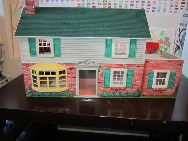 Vintage tin house