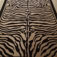 ZEBRA PATTERN AREA RUG - on hold - do not contact