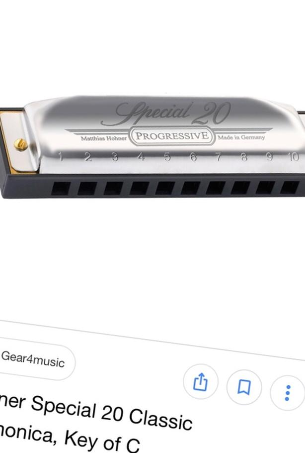 WANTED: Hohner Special 20 Harmonica