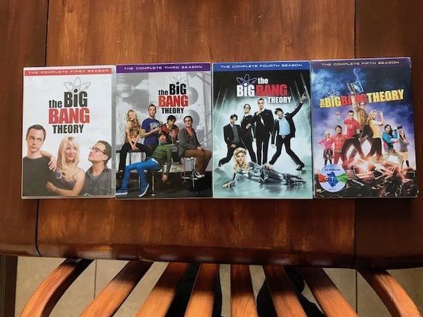4 Seasons of Big Bang Theory