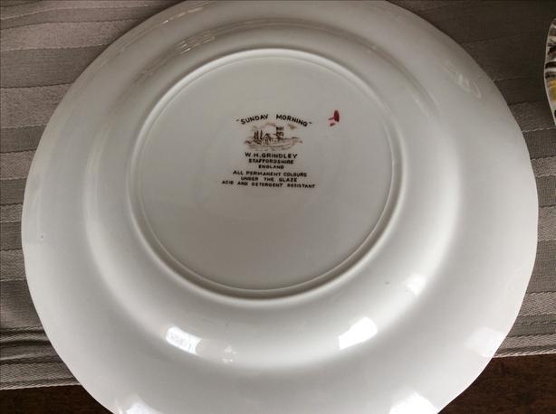 40 pc Fine Staffordshire Ware
