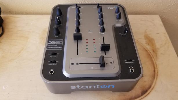 Stanton M 212 2 channel Mixer Victoria City, Victoria