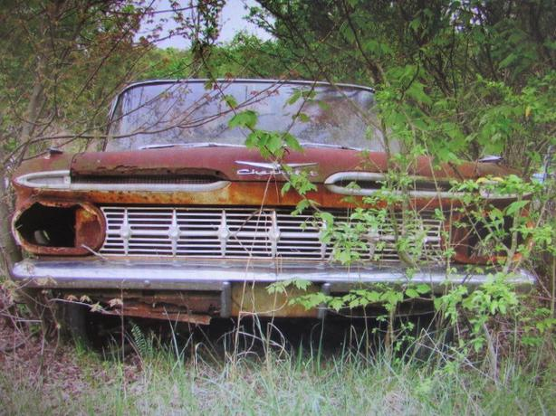 WANTED: ANY '59 CHEVY IMPALA - BELAIR - BISCAYNE PARTS OUT THERE?