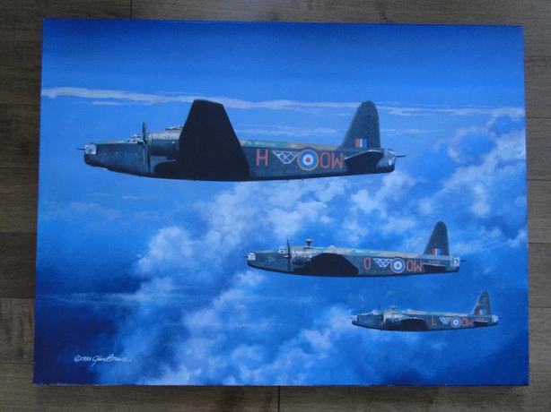 Artist Jim Bruce / Vickers Willington / Canvas