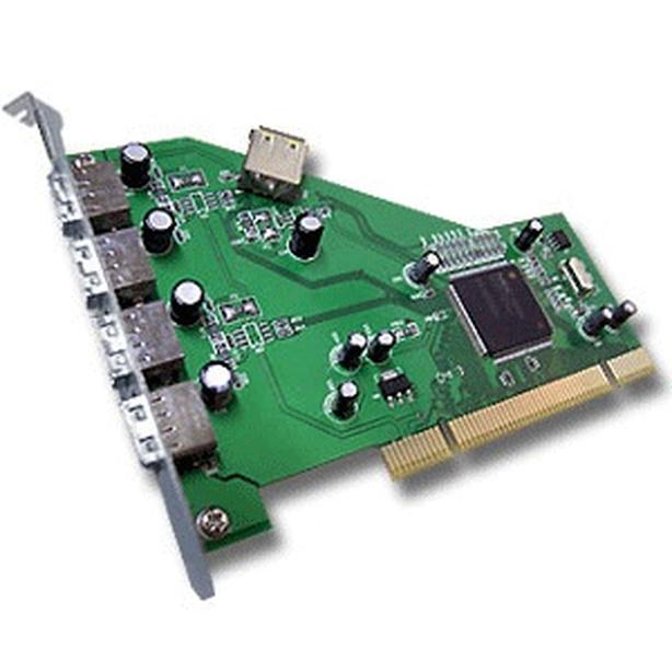 Five port USB PCI Card