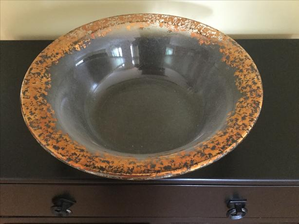 FIRENZA GLASS BOWL (BROKEN)
