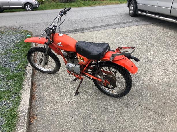 1977 Honda 125 Trail