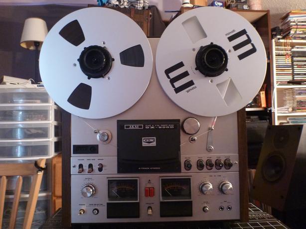 Akai GX-600D reel to reel tape deck