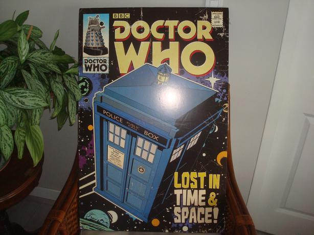 Dr. Who poster and related items
