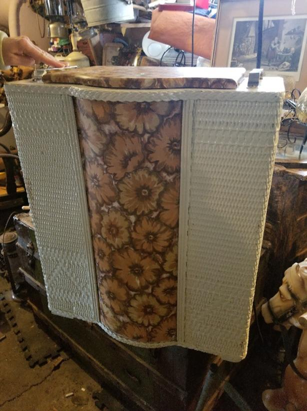 Wicker box for sale