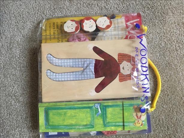 Woodkins - Dress Up For Kids
