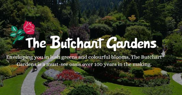 BUTCHART GARDENS SPRING PUZZLE PIECES