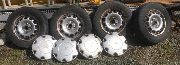 RIMS and COVERS - Tercel P155-80R13