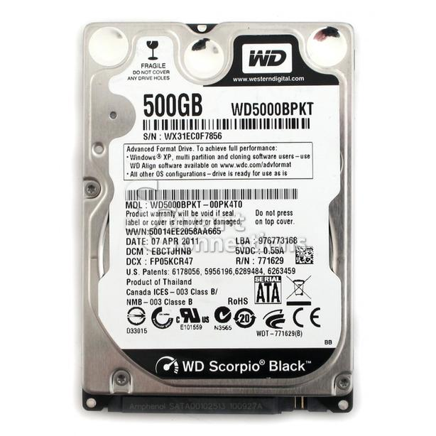 "assorted 2.5"" hard drives and SSDs for sale"