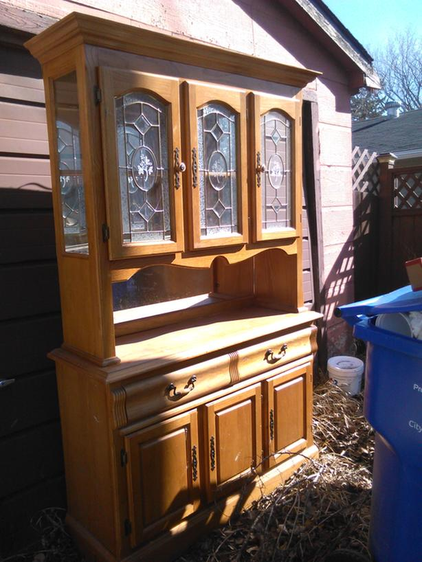 FREE: Dining room cabinet
