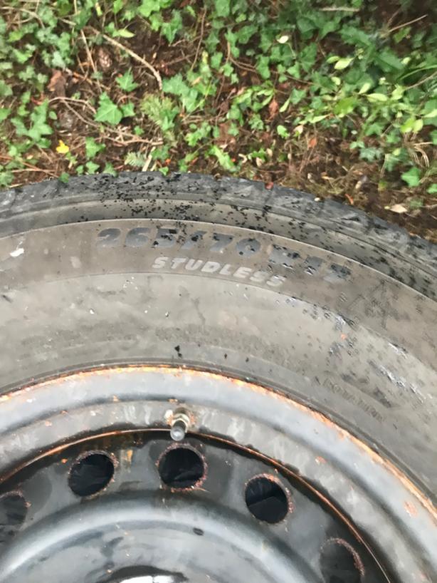 Michelin Winter tires on toyota rims