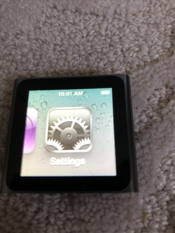 I-pod Nano 6th Generation
