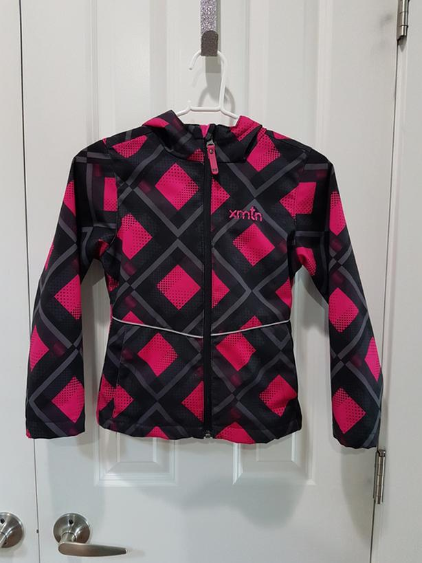 Like NEW - Girl's (6/6X) Fleece Lined Spring Jacket - $5