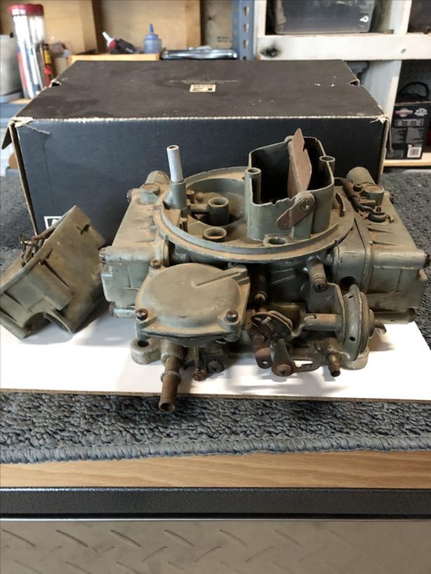 1965/66 Chev Big Block Holley Carb