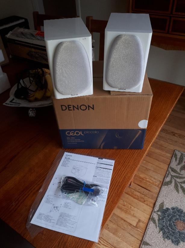 Denon speakers