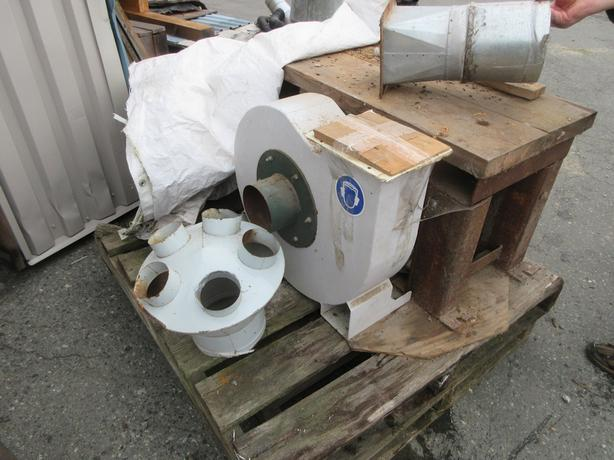 Logosol Dust Collector Blower and Dust Separator Cyclone