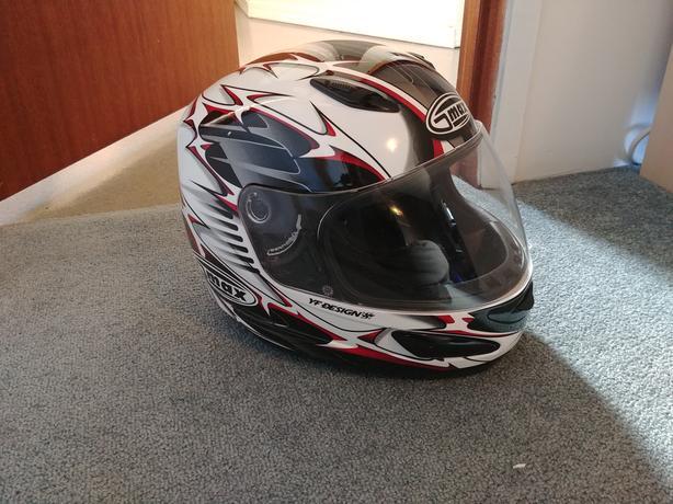 Full Face Motorcycle Helmet (Large)