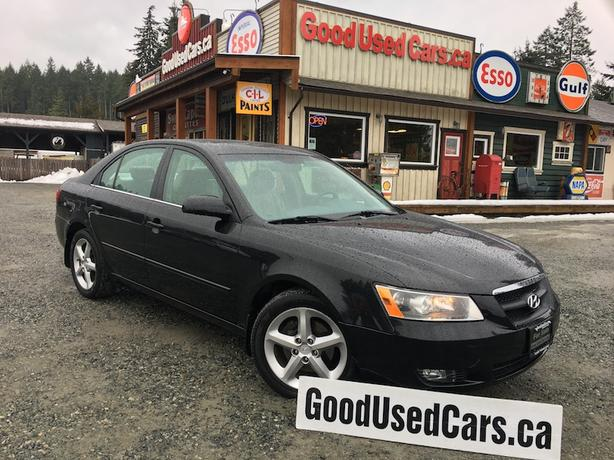 2006 Hyundai Sonata GL - Leather, Sunroof & Alloy Wheels