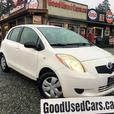2008 Toyota Yaris Automatic with A/C and Power Group - On Sale Now
