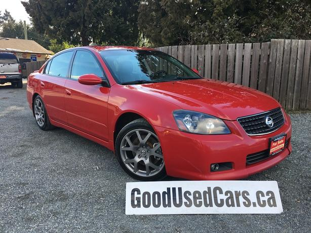 2005 Nissan Altima SE R - Leather, Sunroof & 18″ Alloy Wheels