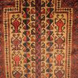 21310-Balutch Hand-Knotted/Handmade Afghan Rug/Carpet Tribal/Nomadic Authentic