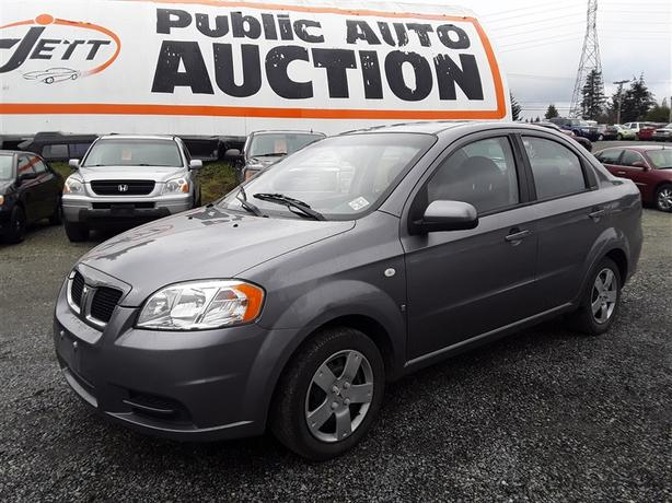 2008 Pontiac Wave very low Km unit selling at auction!