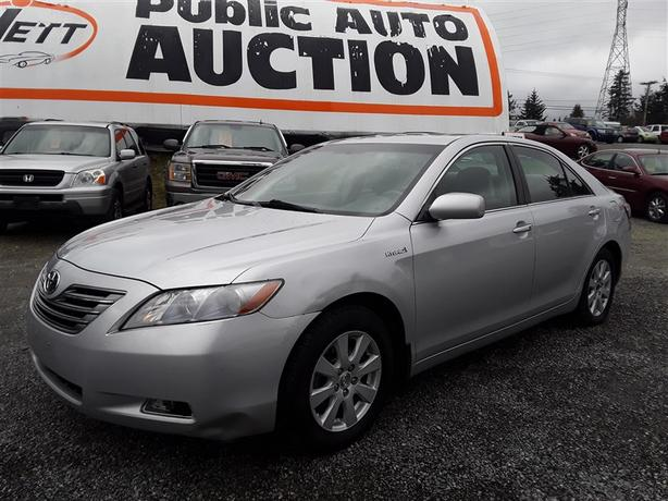 2007 Toyota Camry Hybrid selling at auction!