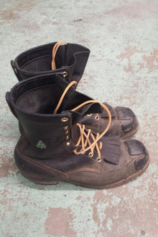 Viberg steel toe work boots