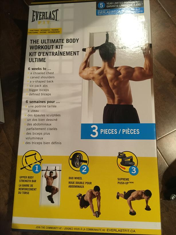 Ultimate body workout kit