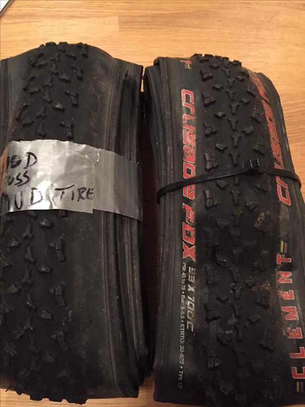 Clement Crusade PDX gravel/cyclocross tires 700x33c