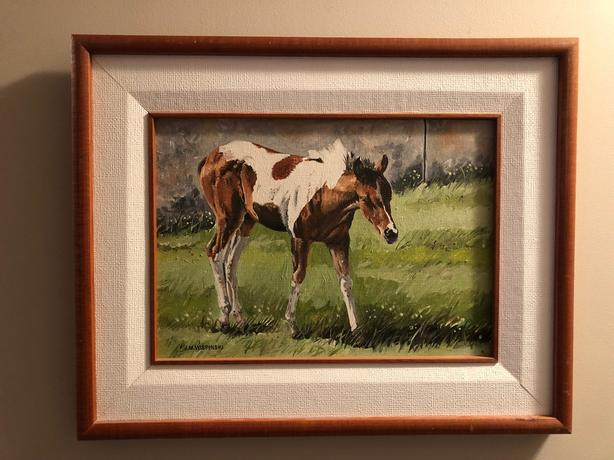 Local Artist Oil Painting