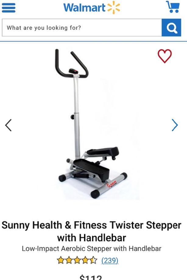 Twist Step - Stepper