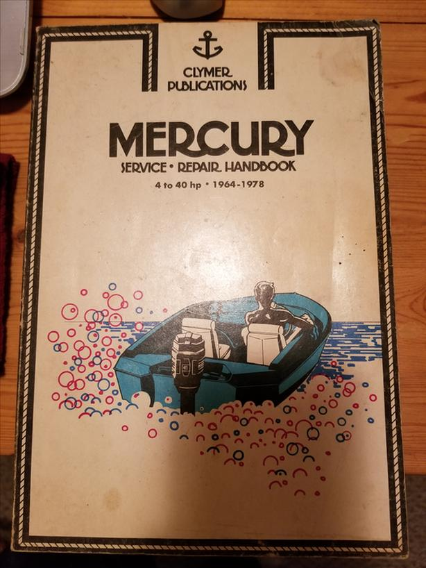 Mercury outboard repair handbook