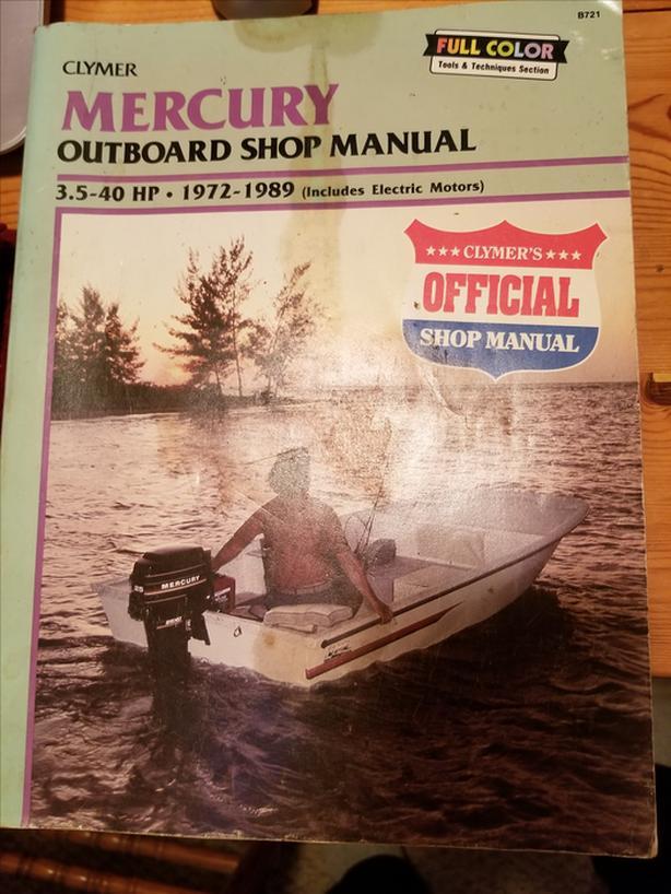 Mercury outboard repair handbook