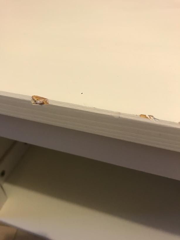 Ikea Hemnes Wall/Bridging Shelf