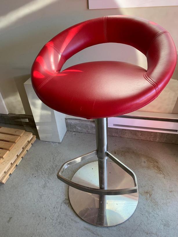 Nice red stool