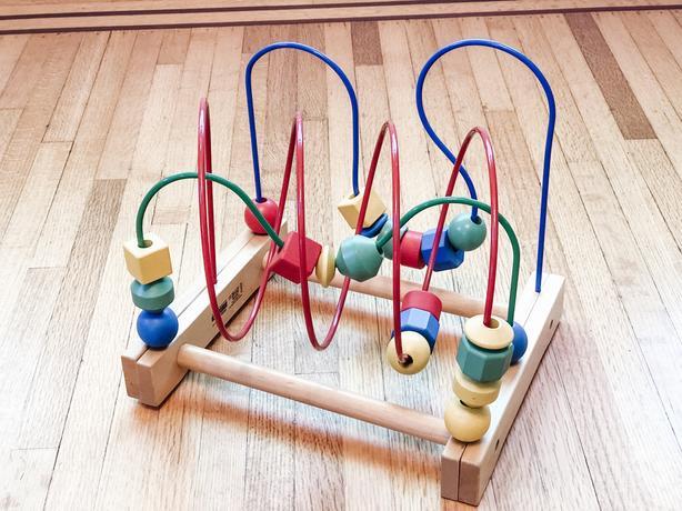 Ikea Bead Roller Coaster