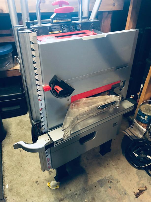Haussmann Xpert 10' Portable Table Saw And Stand