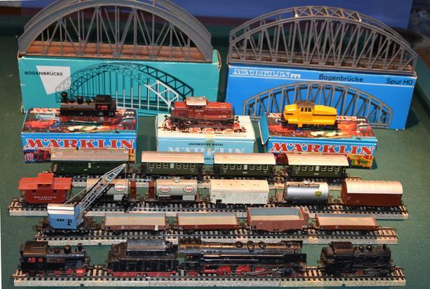 Huge Marklin train set