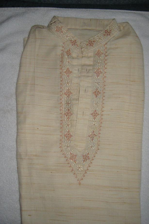 Men's Indian Dress Set (Kurta Pajama Set)