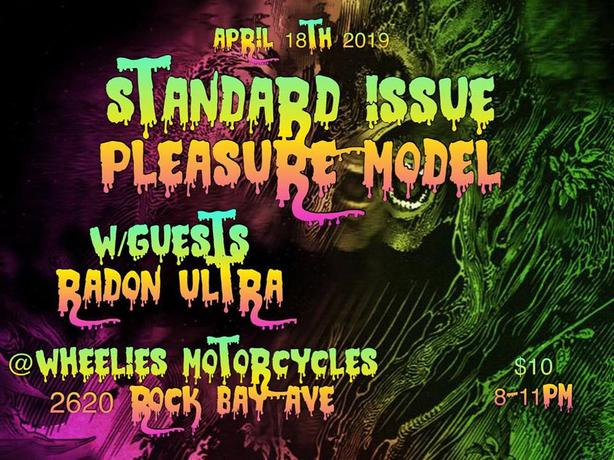 Alt/Psyc Rock Show - Wheelies Bar - April 18th