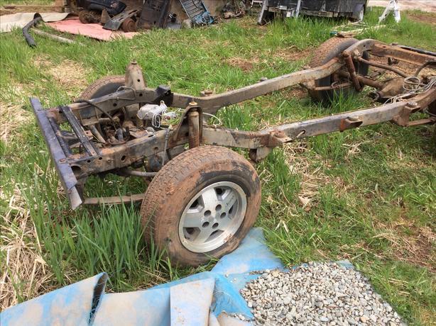 Jeep YJ frame