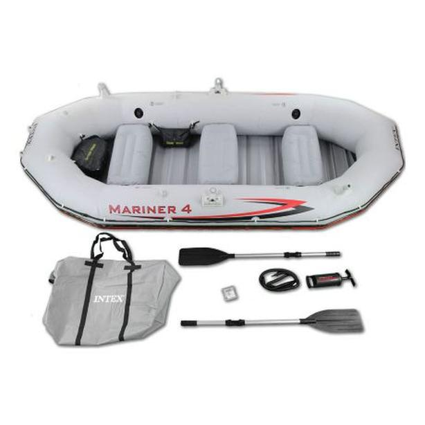 4 MAN - Intex Mariner 4 Inflatable Boat Kit